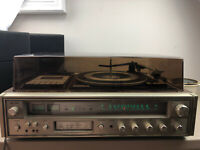 Vintage Fisher MC-3050 Record Player AM/FM Stereo 8 Track  *Am/FM & 8-track Work