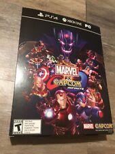 Rare- Marvel Vs. Capcom Infinite - Promo Poster Box 16X11X3 Box Art Only