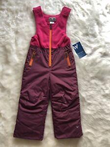 White Sierra Children's ski pants Girls Ski Pants purple Size 3T
