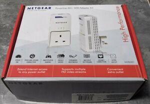 Netgear Powerline AV+ 500 Adapter Kit XAVB5501 Boxed