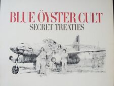 """Blue Oyster Cult Album Poster & Trapeze Hot Wire LP 2 Sided 70s Poster 15x10"""" 83"""