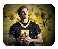 Item#454 Drew Brees Montgage New Orleans Saints Facsimile Autographed Mouse Pad