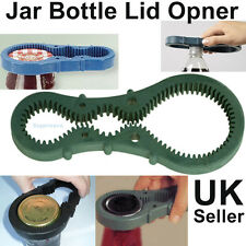 Multi bottle opener jar container lid top closer remover grip twist tool stopper