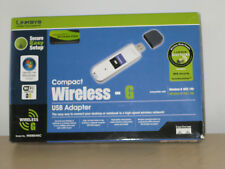 LINKSYS CISCO SYSTEMS COMPACT WIRELESS - G USB ADAPTER 2.4 GHz 802.11g WUSB54GC