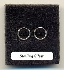 Small Silver Hoops 10mm Sterling Silver 925 Earrings Pair