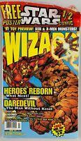 Wizard Magazine March 1997: Heroes Reborn, Daredevil, Star Wars Poster