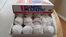 United Athletic Official League Cork & Rubber Core Dura Hide Box of 12 Baseballs
