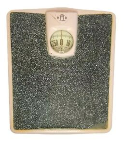 MCM Pink Vintage H H Bathroom Scales Retro Weighs up to 260 lbs (Harmony House?)