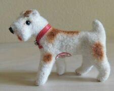 Vintage Handwork Kunstlerschutz West Germany Terrier Dog Animal Handmade