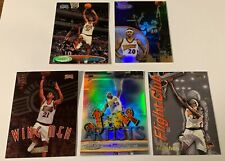LARRY HUGHES 5 card insert lot - JAM ARTISTS, Wing Men, Flight Club, Class 2 GL