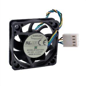 EVERFLOW R124010BM 4CM 40*40*10MM 12V 0.12A 4Pin Cooling Fan
