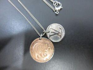 Authentic Louis Vuitton Chapman Brothers Vene Elephant Necklace M62510 94443