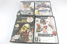 Nintendo Gamecube Sports Titles Madden 2003 Tiger Woods Fifa World Cup