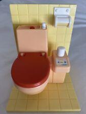 Vintage 1967, 1992 Takara Doll Furniture Accessories Flushable Toilet