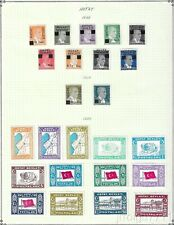 MD Turkey, HATAY stamp collection on pages, 3 pictures