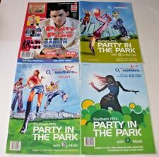 4 X Southern FM Party In The Park Brighton Programmes 2002, 2003, 2004, 2004