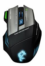 Dragon War ELE-G9 Thor Gaming USB Mouse 3200dpi, 7 Buttons + Free Mouse Mat