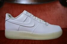 NIKE AIR FORCE 1 VT PRM USED SIZE 11 FOAMPOSITE WHITE CLEAR 472830-100