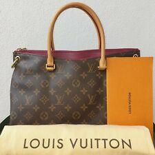 Louis Vuitton Pallas Monogram Handbag