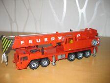 Siku 4010  4110 Feuerwehr Kran von 1992 - 1993 Felgen MIT Aufdruck TOP