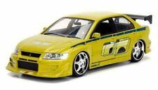 Jada Toys 1: 24 Fast & Furious Brian's Mitsubishi Lancer Evolution VII Diecast Vehicle - 99788