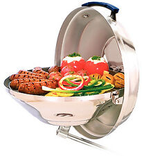 """Marine Kettle Charcoal Grill With Hinged Lid 15"""" Diameter Magma A10104"""