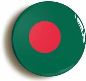 BANGLADESH BANGLADESHI NATIONAL FLAG BADGE BUTTON PIN