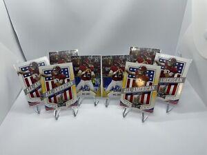2021 Leaf Mac Jones 8 Card Lot Invest Patriots Alabama All American