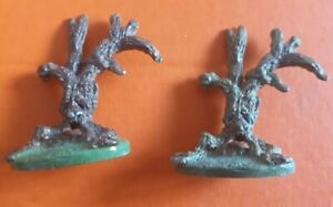 TSR tree Quickwood Monsters x2 Official Advanced Dungeons & Dragons d&d  painted