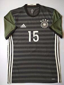 Germany Jersey 2016 Player Issue Size 6 Shirt Adizero Trikot Adidas AA0111 ig93