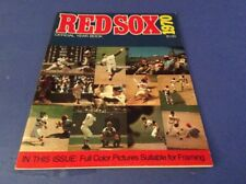 1970 BOSTON RED SOX OFFICIAL YEARBOOK /FULL COLOR PHOTOS YASTRZEMSKI