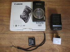Canon IXUS 160 20.0MP Digital Camera Black boxed with accessories