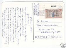 Bedarfspostkarte, BRD, Michel 1175, EF, Eckrandstück, o Darmstadt 1, 14.4.84