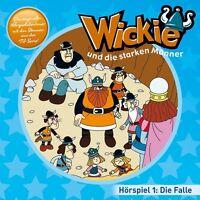 WICKIE - 01: DIE FALLE,DER WETTLAUF/+  CD NEU