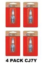 Champion CJ7Y Spark Plug Fit Small Engines Genuine 4 Pack