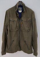 Men G-Star Raw Denim Jacket Motor 5620 Berkeley Casual Cotton XL ZJA642