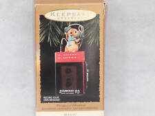 """1993 Hallmark Magic Ornament """" Messages of Christmas""""~Price Tag intact $35.00"""