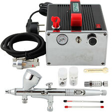 OPHIR Latest Style HOT Portable Pro 3 Tips Airbrush Compressor Kit for Nail Art