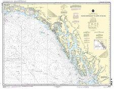 NOAA Chart Dixon Entrance to Cape St. Elias 22nd Edition 16016