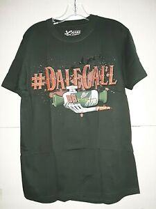 "Dale Earnhardt Jr # 88 Nascar "" DaleCall "" Green T-shirt, Size Medium"
