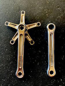 Shimano DURA-ACE crankset 165mm Polished