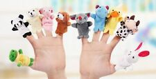 10Pcs Baby Kids Funny Toy Finger Puppets Story Animal Figure animal group