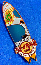 HONOLULU HAWAII GREEN TURTLE PACIFIC OCEAN WATER SURFBOARD Hard Rock Cafe PIN LE