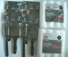 "Painter's Collection Angle Sash Trim Paint Brush & Px Pro 9"" Roller Set Lot"