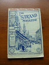 Sherlock Holmes Valley of Fear Strand November 1914
