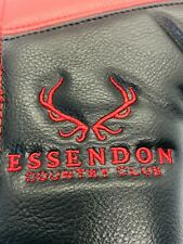 Essendon Country Club Uk Black Golf Members Leather Magnet Bade Putter Headcover