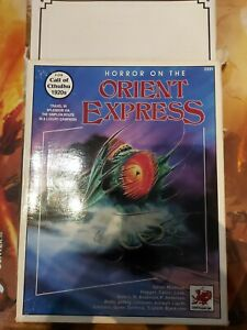 Horror on the Orient Express Boxed Set (Rare 1st Edition) complete box wear