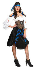 Adult Ladies Rum Runner Pirate Costume Caribbean Pirate Adult Size Standard
