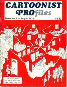 Cartoonist Profiles   #7   Very Fine+   JOE SINNOTT'S COPY   August 1970