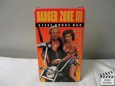 Danger Zone 3: Steel Horse War (VHS, 1990) Jason Williams